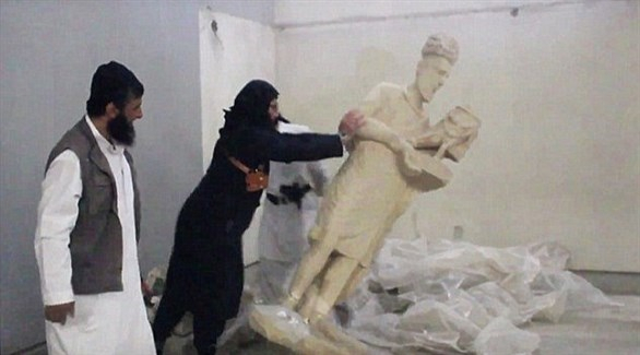 مسؤول أوروبي يكشف مصير آثار نهبها داعش في سوريا والعراق