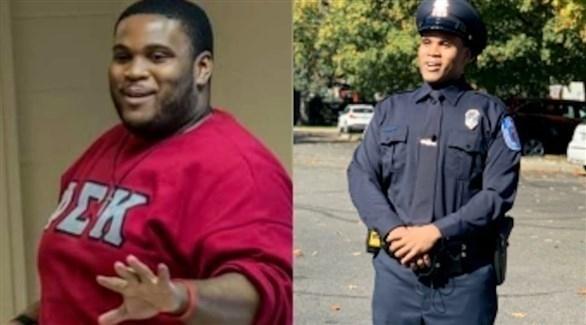 يخسر 80 كيلو من وزنه ليصبح شرطياً