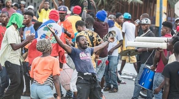 الآلاف يتظاهرون في هايتي مجدداً للمطالبة بتنحي رئيس البلاد
