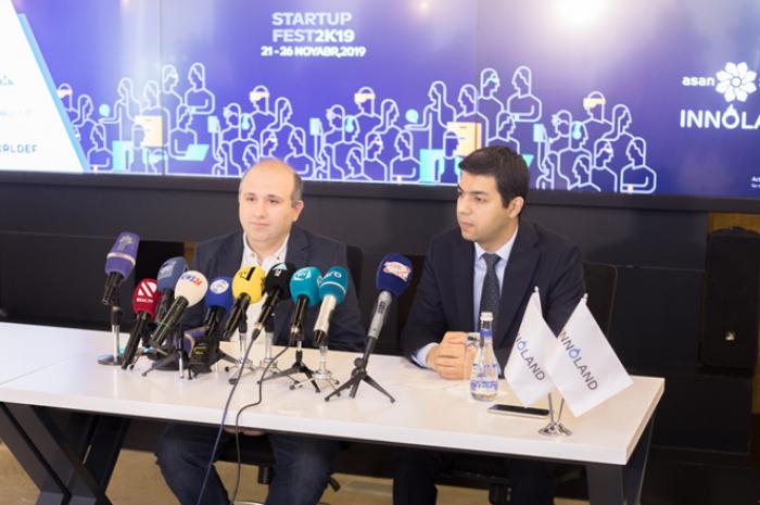"""StartupFest 2019""a həsr olunmuş mətbuat konfransı keçirilib"