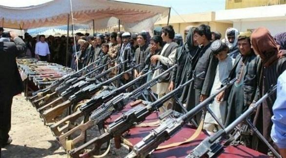 أفغانستان: استسلام 615 من الدواعش وأسرهم