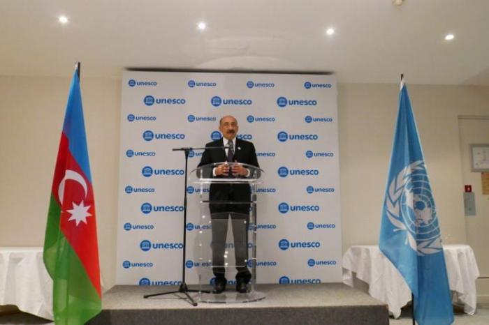 Celebran25 aniversario de la Comisión Nacional de Azerbaiyán para la UNESCO en París