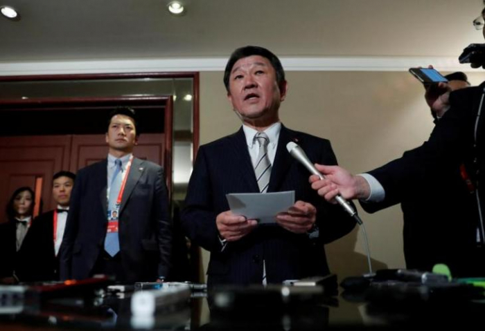 Japan FM to discuss wartime labor issue with South Korean counterpart