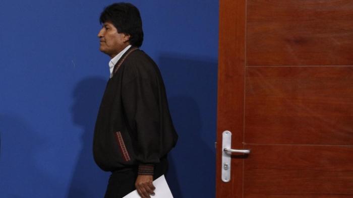 Morales fliegt nach Mexiko