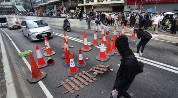 هونغ كونغ تعلق الدراسة حتى الأحد بسبب الاحتجاجات