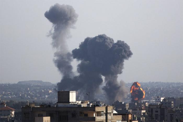 İsrail Qəzzaya zərbələr endirib: 10 ölü, 45 yaralı