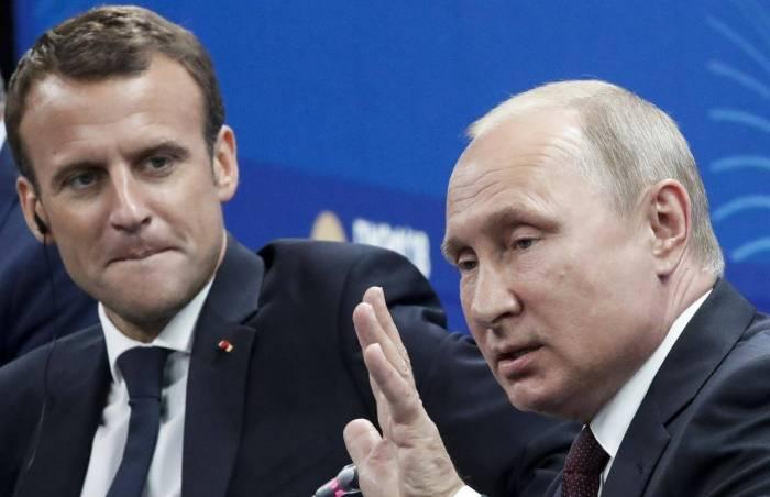 Putinlə Makron Ukraynanı müzakirə etdi