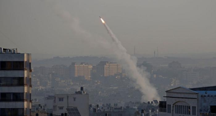 إصابة إسرائيلية بجروح طفيفة جراء سقوط صاروخ على منزلها