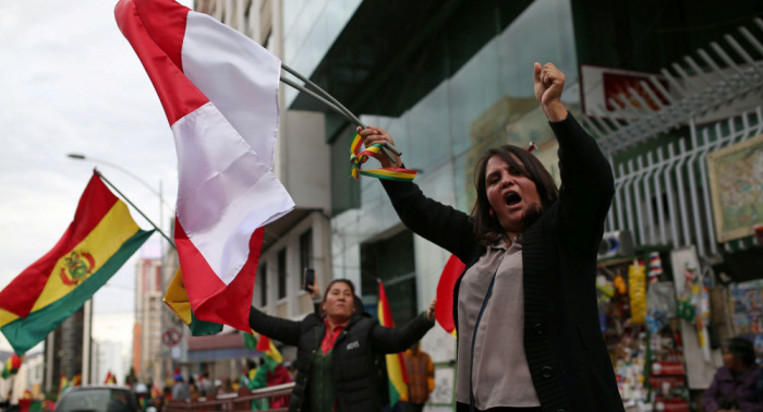 الرئيس البوليفي المستقيل إيفو موراليس يعلن مغادرة بلاده متوجها إلى المكسيك