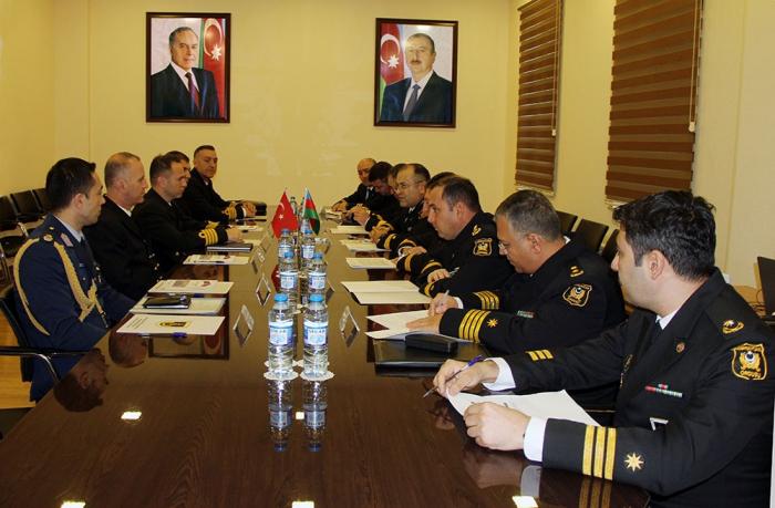 Turkish Naval Forces delegation visits Baku