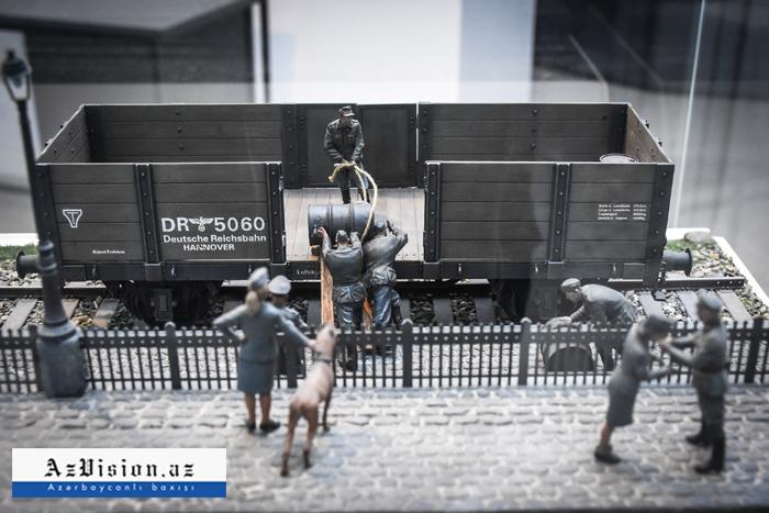 أول متحف السكك الحديدية في أذربيجان -   صور