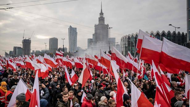 Pologne: grande Marche de l