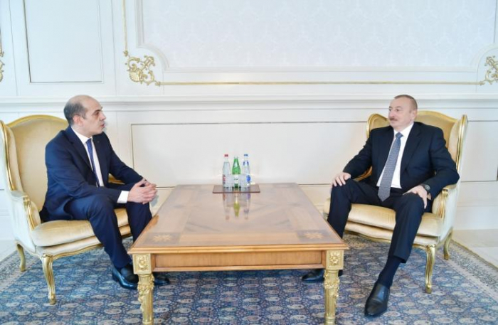 President Ilham Aliyev received credentials of incoming Jordanian ambassador