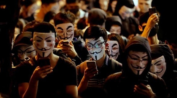 المحتجون في هونغ كونغ ينتصرون قانونياً على أقنعة الوجه