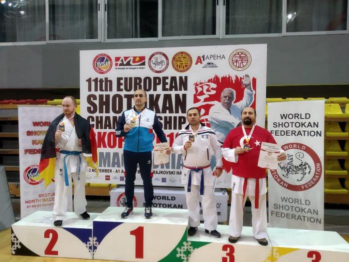 Prokurorluq əməkdaşı Avropa üçüncüsü oldu - FOTO