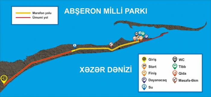 Abşeron Milli Parkında qaçış marafonu keçiriləcək