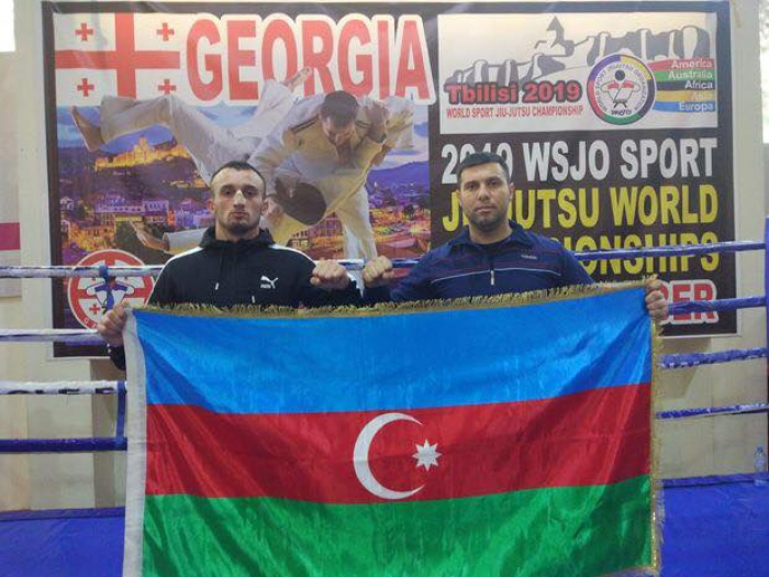 Azərbaycanlı iki polis Tbilisidə medal qazandı