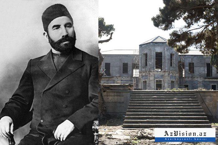 Məşhur milyonçunun Mərdəkandakı evi təmir olunur - FOTOREPORTAJ