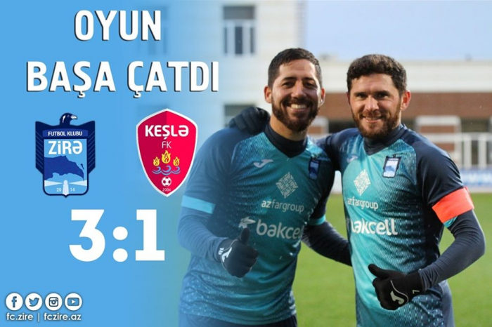 """""""Zirə"""" """"Keşlə""""yə qalib gəldi"""
