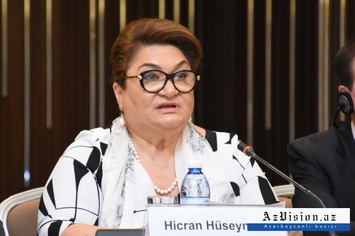 """""""Azərbaycanda sığınacaqların sayı artırılmalıdır"""" - Hicran Hüseynova"""