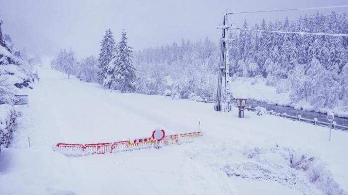 Schneechaos in Österreich und Italien