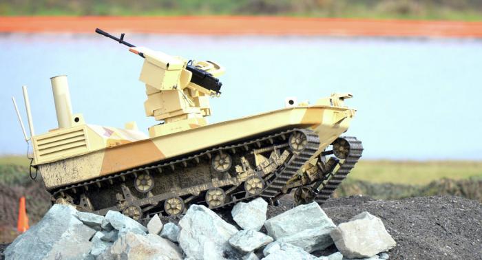 """موعد اختبارات الروبوت القتالي الروسي """"ماركر"""""""