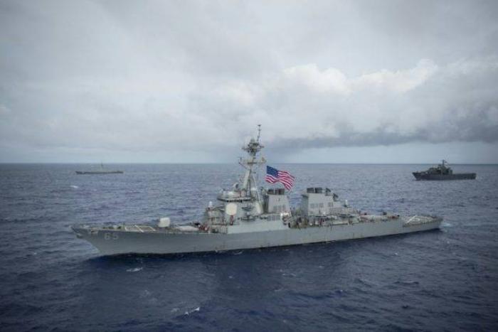 """La US Navy forme ses alliés pour """"protéger la navigation"""" dans le Golfe"""