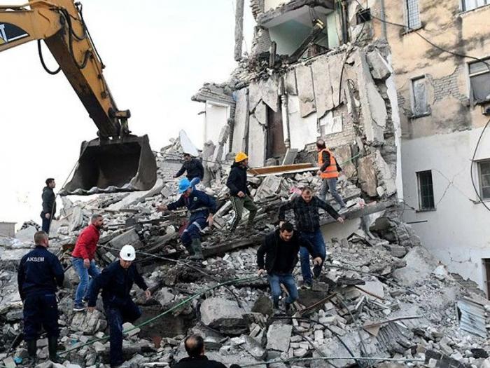 Azərbaycan Albaniyaya humanitar yardım ayırdı
