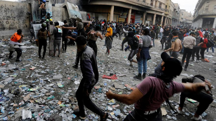 Twenty-seven Iraqi protesters killed in a day as violence continues -   NO COMMENT