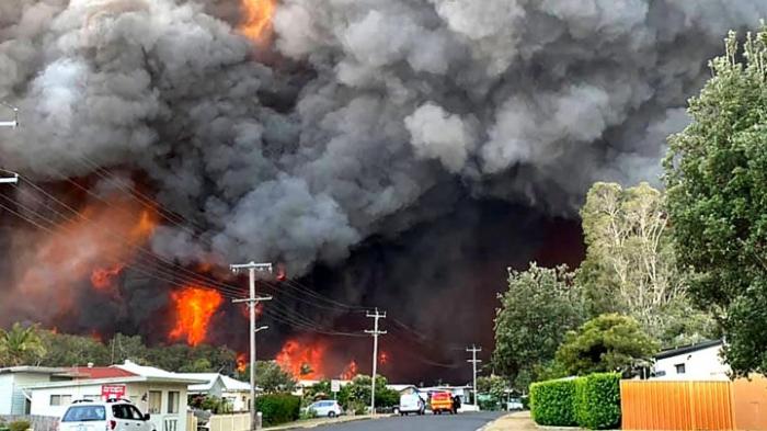 Hunderte Schulen wegen Buschfeuern geschlossen