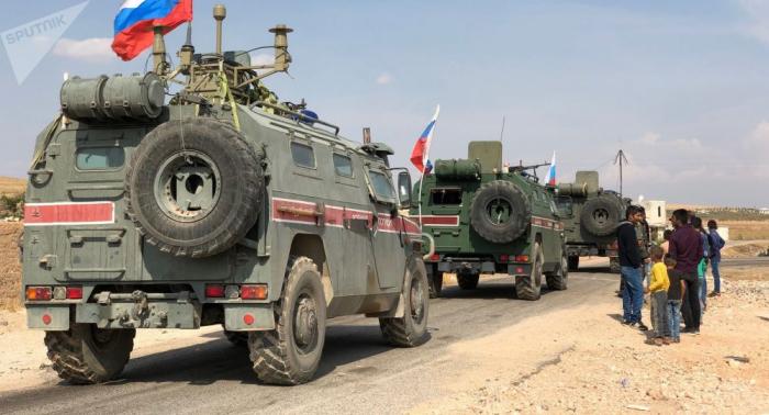 الدفاع الروسية: الدورية الروسية التركية الثامنة تبدأ أعمالها على الحدود السورية التركية