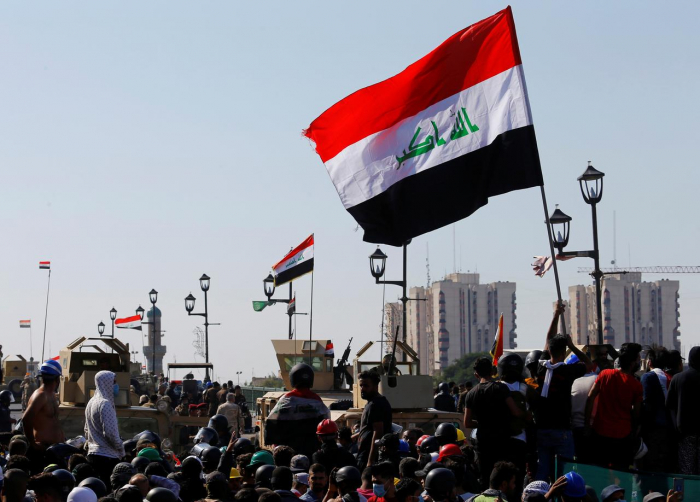 Iraqi PM calls for protests to allow a return to