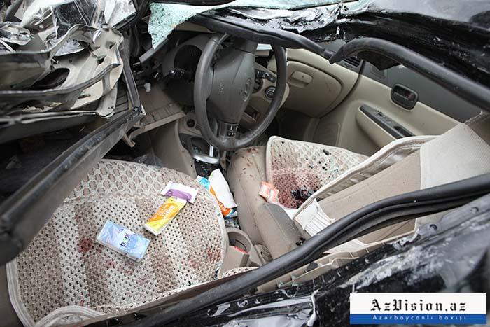 9 ayda baş verən yol qəzaları: 557 ölü, 1178 yaralı