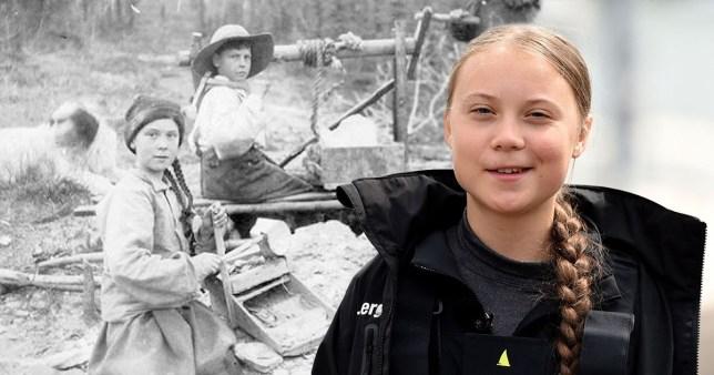 Voyage dans le temps? La photo d'un sosie de Greta Thunberg prise il y a 120 ans amuse le Net