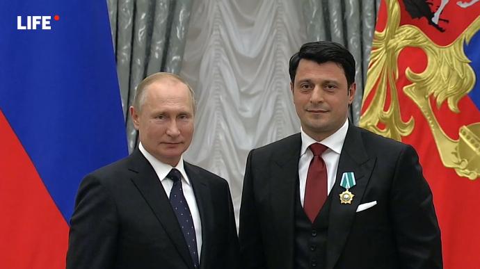 Putin Quba yəhudisini mükafatlandırdı