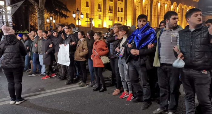 Gürcüstanda etirazçılara hökm oxunub