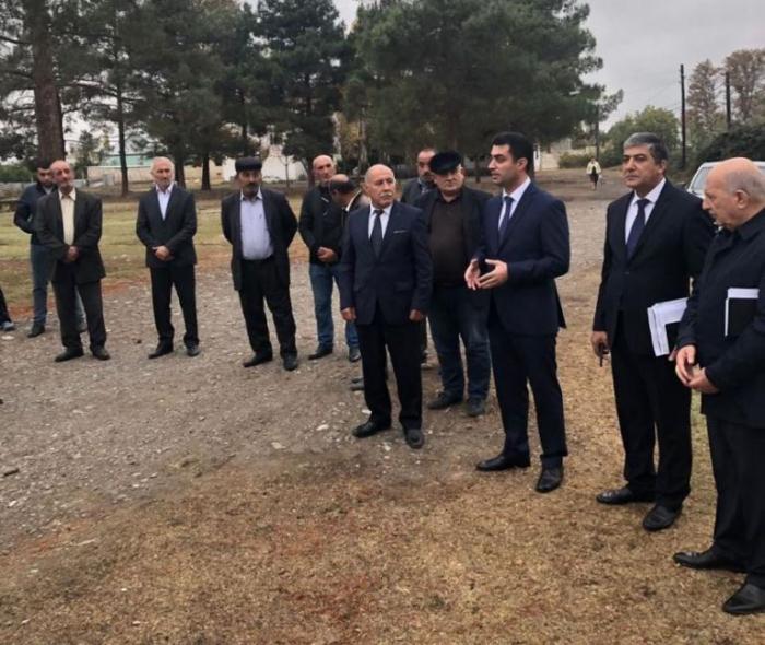 Yeni icra başçısı vətəndaşlarla ilk görüşünü keçirdi