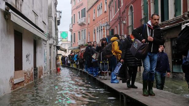 Nouvelle alerte météo à Venise
