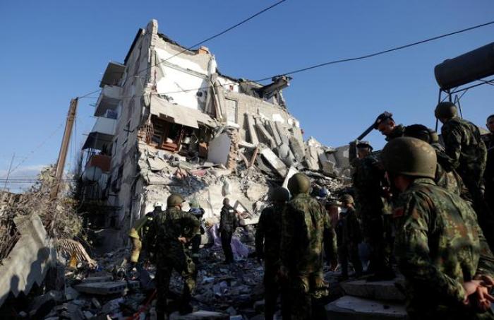 Earthquake of Magnitude 6.4 strikes near Albanian capital - UPDATED