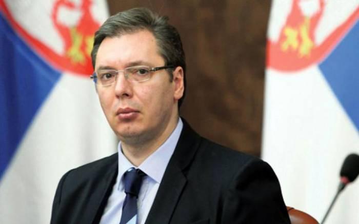 Serbiya prezidenti xəstəxanaya yerləşdirilib