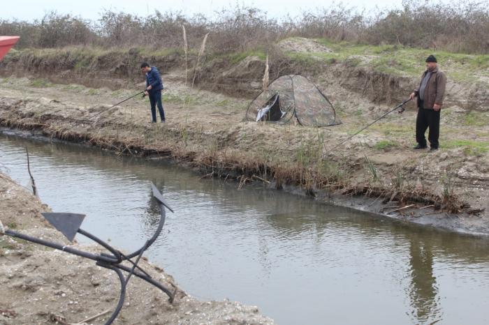 Qızılağac milli parkında balıq ovu turniri keçirilib