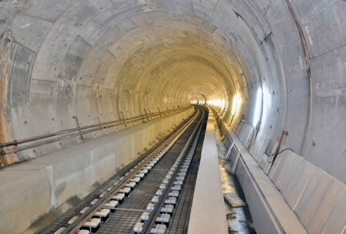 Main construction of another subway station completed in Baku