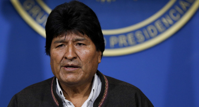 Trump calls resignation of Bolivia