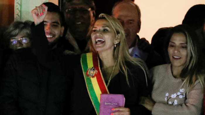 Les Etats-Unis reconnaissent Jeanine Añez comme présidente de la Bolivie