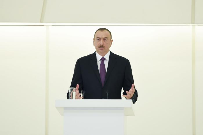 """الهام علييف:  """"تم تدمير جميع معالمنا التاريخية ومقابرنا ومساجدنا من قبل الأرمن"""""""