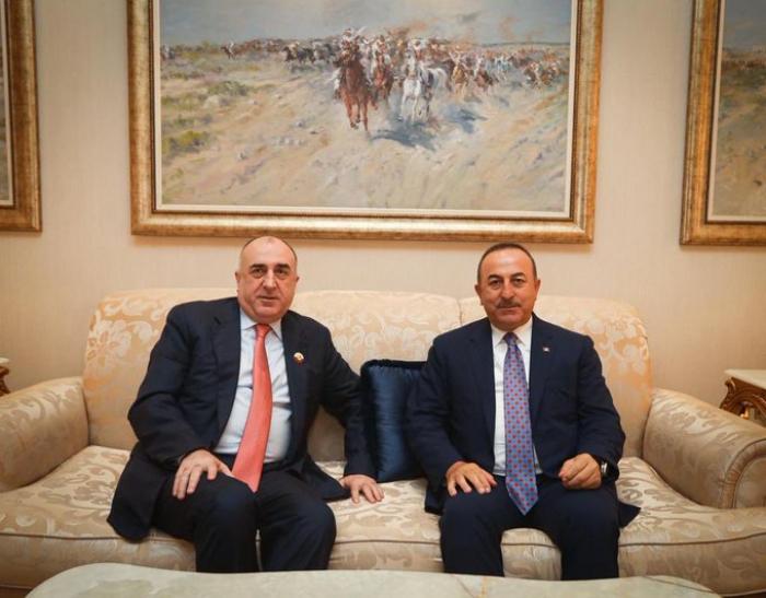 Məmmədyarov və Çavuşoğlu Dohada görüşdü