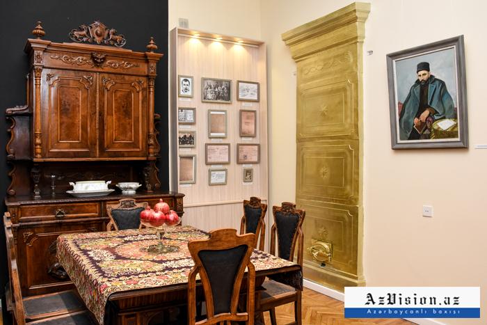 Cəlil Məmmədquluzadənin Bakıdakı ev muzeyi - FOTOREPORTAJ