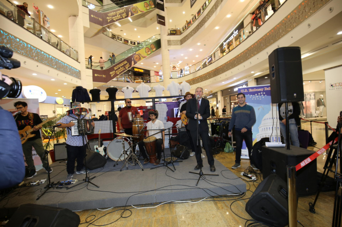 US Embassy sponsors first visit of the American Afro-Latin music group to Azerbaijan
