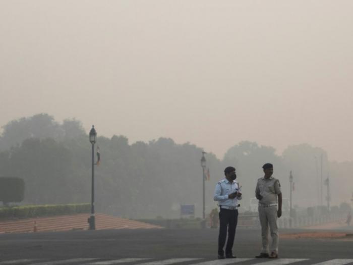 New Delhi suffoque dans une pollution dense