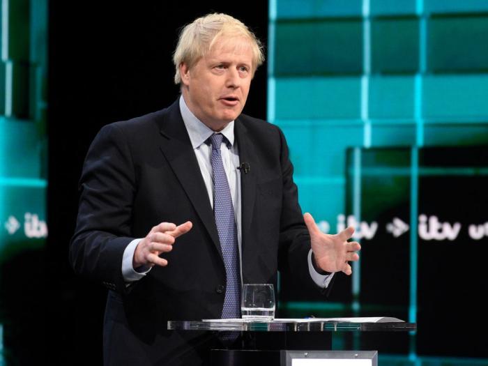 Twitter reproche au parti de Boris Johnson d